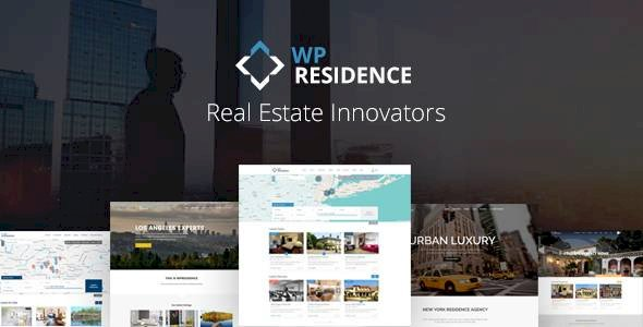 Residence Real Estate v2.0.8 - WordPress Theme