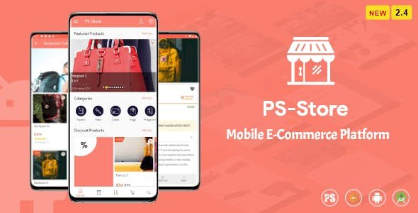 PS Store v2.7 - Mobile eCommerce App for Every Business Owner