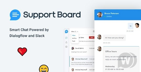 Chat v3.0.0 - Support Board - Chat PHP Plugin