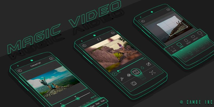 Magic Video Editor v1.0 - Android Template