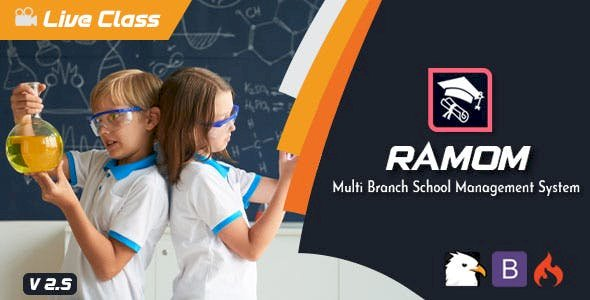 Ramom v3.5 - Multi Branch School Management System