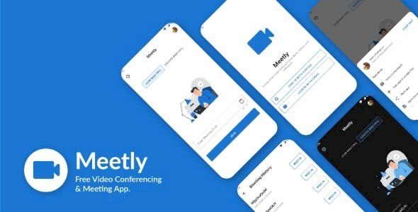 Meetly v1.13 - Free Video Conferencing & Meeting App
