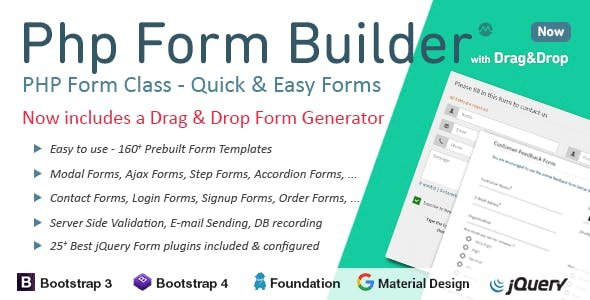 PHP Form Builder v4.5.0