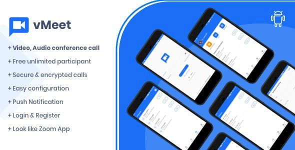 Vmeet v1.0.2 - A Complete Video Conferencing Android App