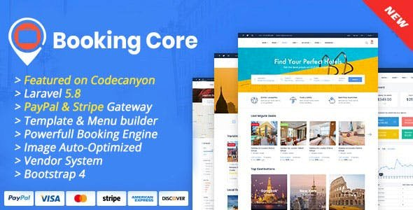 Booking Core v1.8.2 - Ultimate Booking System