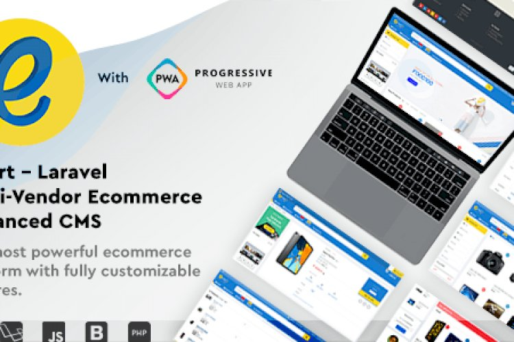 emart v1.5 - Laravel Multi-Vendor Ecommerce Advanced CMS