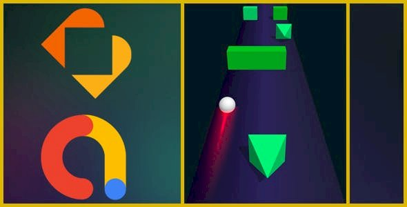 Color xBall 3D Buildbox Game with ADS v1.0