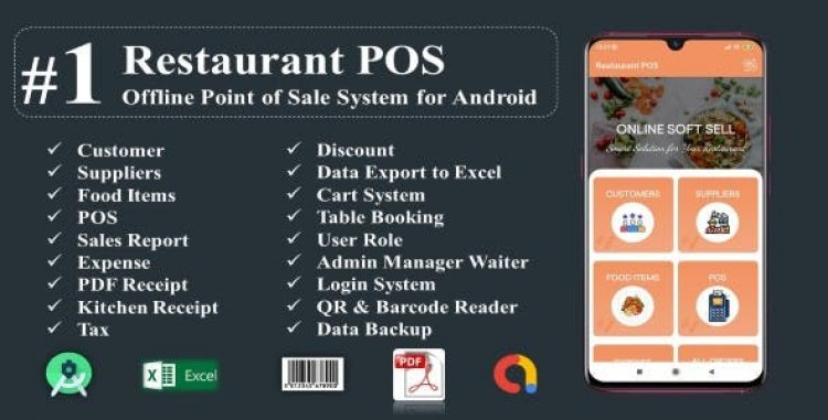Restaurant POS-Offline Point of Sale System for Android v2.0