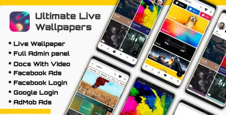 Ultimate Live Wallpapers Application (GIF/Video/Image) v2.0