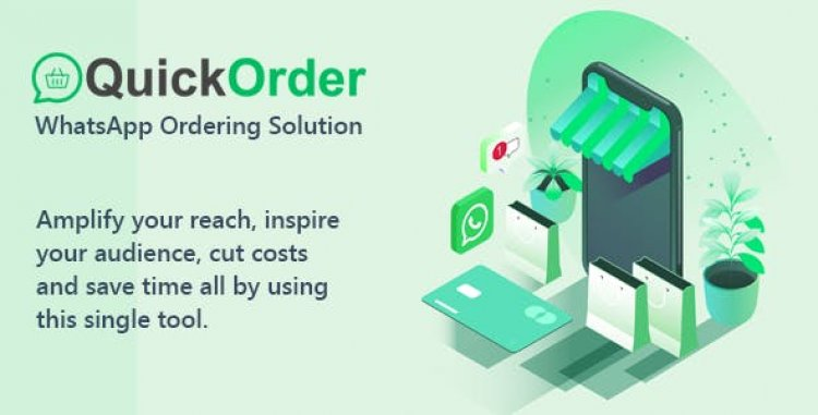 QuickOrder v1.0 - WhatsApp Ordering QuickQR Addon