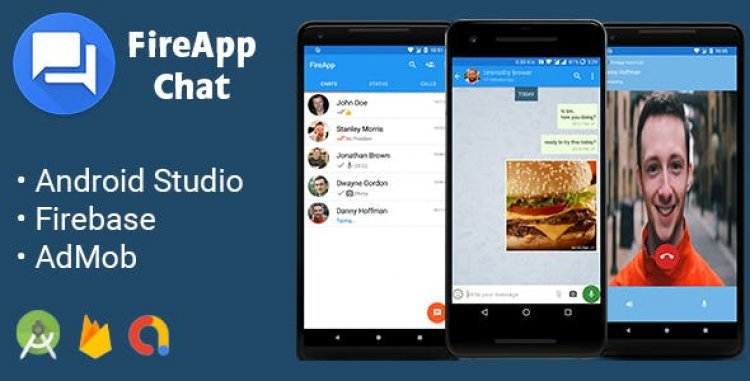 FireApp Chat v2.0 - Android Chatting App with Groups Inspired by WhatsApp