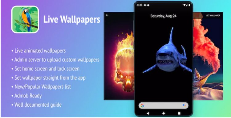 Live Wallpapers Android App v1.0 - In-app Purchases