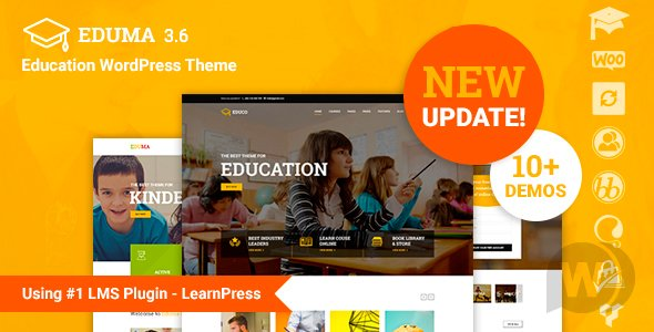 Eduma v4.0.0 NULLED - WordPress Education Theme Template