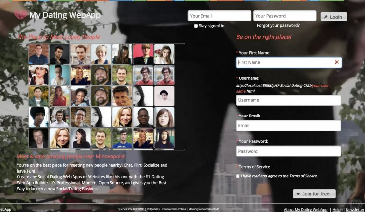 PH7 sociale dating software demo