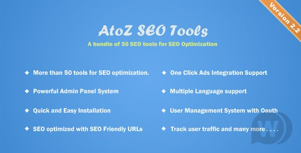 AtoZ SEO Tools v2.3 - Search Engine Optimization Tools
