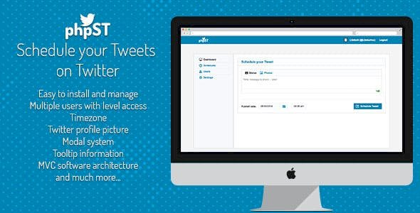 phpST v1.0 - Schedule your Tweets on Twitter