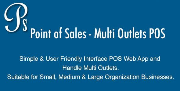 Point of Sales v4.0 - Multi Outlets POS