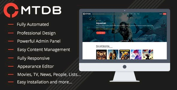 MTDb v3.1.3 - website script with films and TV shows