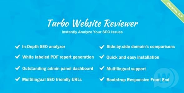 Turbo Website Reviewer v2.0 - In-depth SEO Analysis Tool