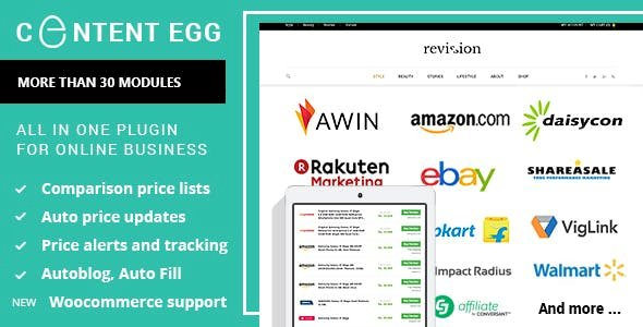 Content Egg v6.1.1 - all in one plugin for Affiliate, Price Comparison, Deal sites