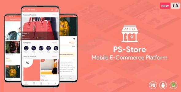 PS Store v1.9 -  Mobile eCommerce App for Every Business Owner