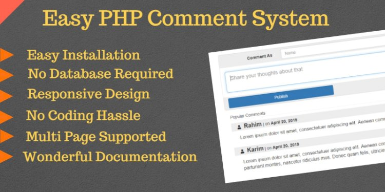 EasyComment - PHP Comment System