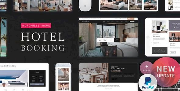 Hotel Booking v1.6 - WordPress Hotel Website Template